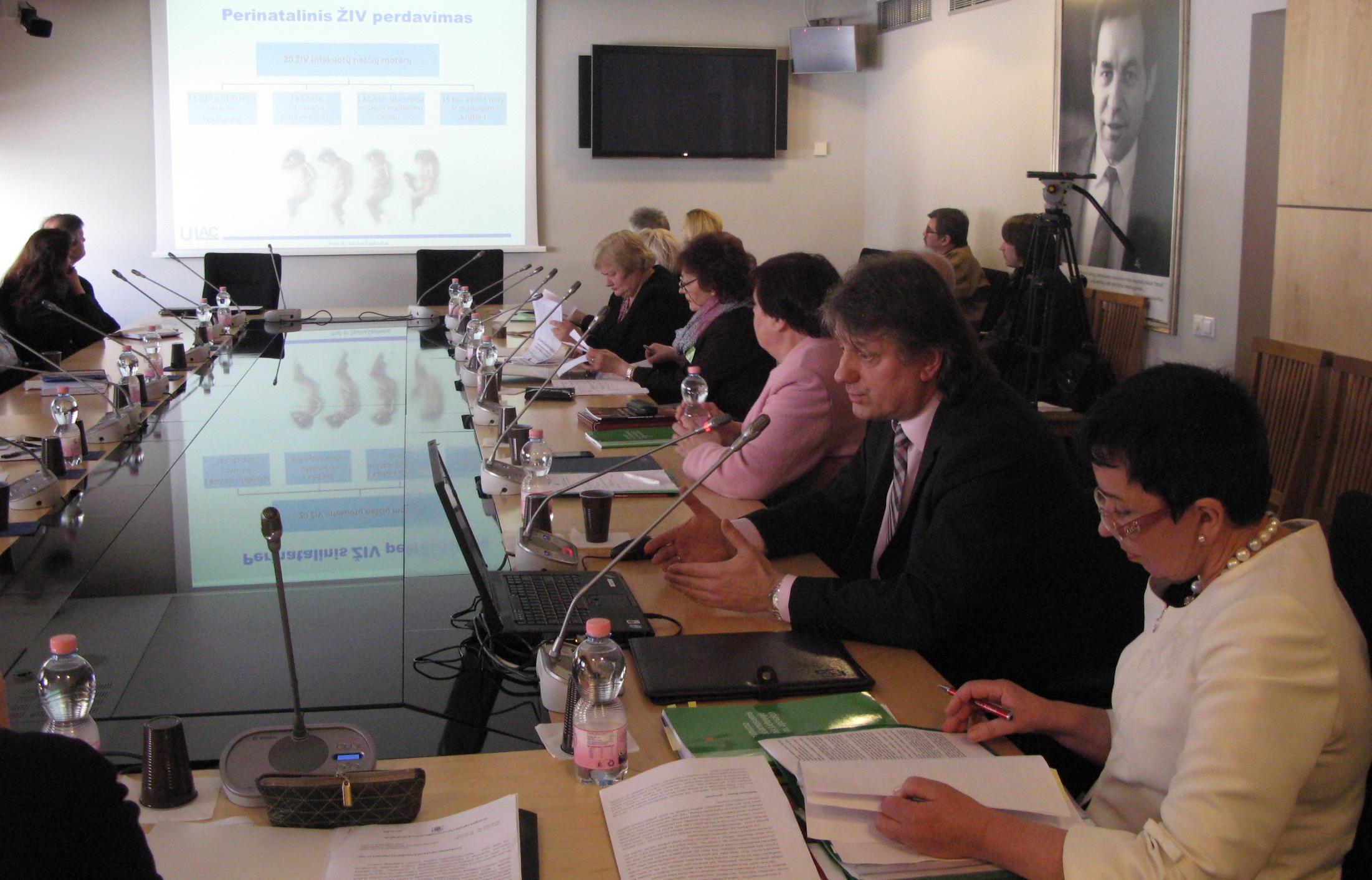 Posėdyje Seime – dėmesys užkrečiamoms ligoms