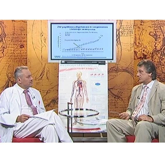 Televizijos laidoje pokalbis apie ŽIV infekciją ir AIDS
